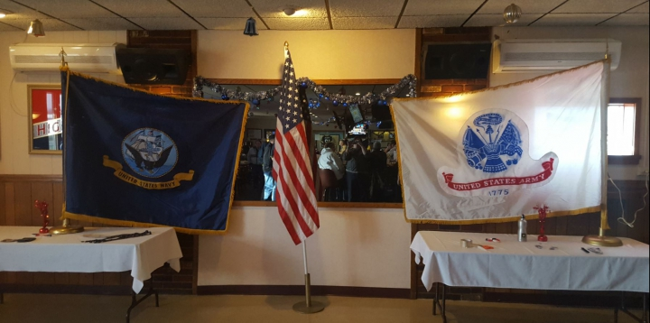 Army vs Navy Flags